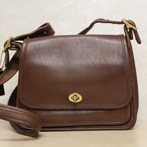 Coach Rambler Legacy Leather Cross Body 9061